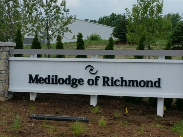 Medilodge of Richmond Sign